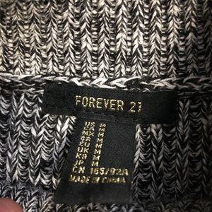 Forever 21 Sweaters - Forever 21 Knit Sweater Sleeveless Charcoal Vest